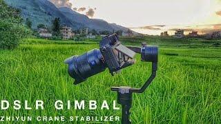 Affordable Filmmaking / Camera Gears  - DSLR Gimbal