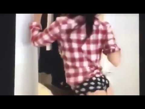 Girl chokes man during handjob