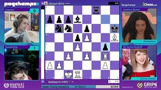 xQc vs Sardoche - PogChamps 3 Quarterfinals Chess Tournament (Game 4)