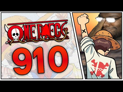 ONE PIECE 910 MANGA CHAPTER LIVE REACTION | ワンピース #AnimeExpoSpecial