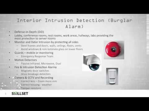 Physical Intrusion Detection (CISSP Free By Skillset.com)