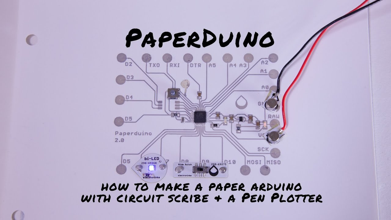 Paperduino  How To Print A Paper Arduino
