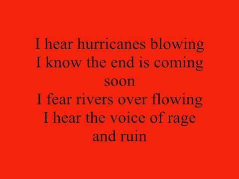Creedence Clearwater Revival - Bad Moon Rising lyrics