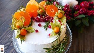 Мандариновыи Торт Очень Нежный и Пропитанный Tangerine CAKE Recipe