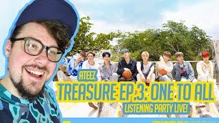 Baixar Mikey's 'ATEEZ (에이티즈) - TREASURE EP.3 : One To All' Listening Party LIVE!!