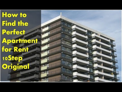 How To Find The Perfect Apartment For Rent 10Step Original