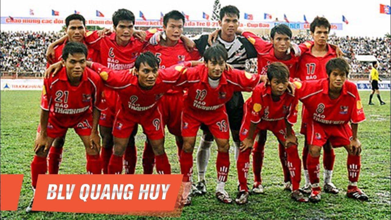 Phan Quý Hoàng Lâm (1984 – 2020) cùng Bình Định vô địch U21 Quốc gia 2005 | BLV Quang Huy