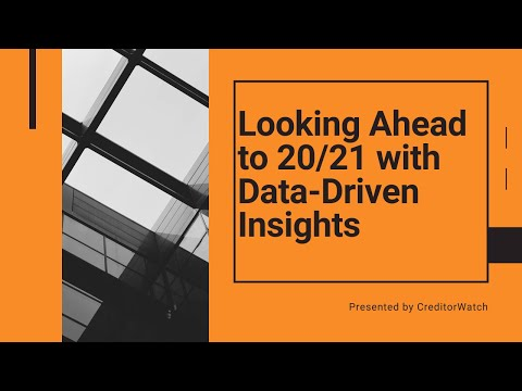 Looking Ahead to 20/21 with Data-Driven Insights