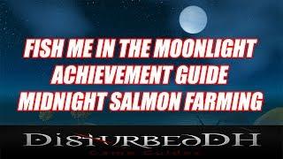 Midnight Salmon Farming - Fish Me In The Moonlight Achievement Guide - WoW BFA!