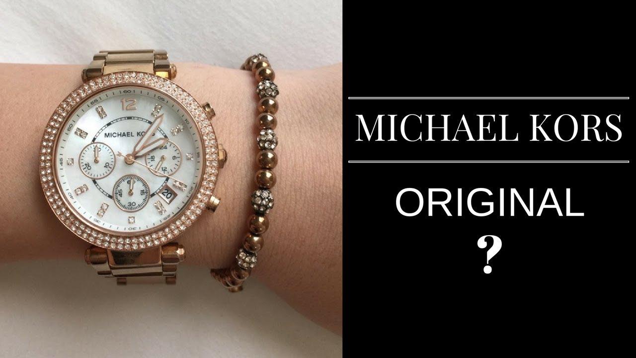 8f842afc74683 Relógio Michael Kors Original - Como Identificar - YouTube
