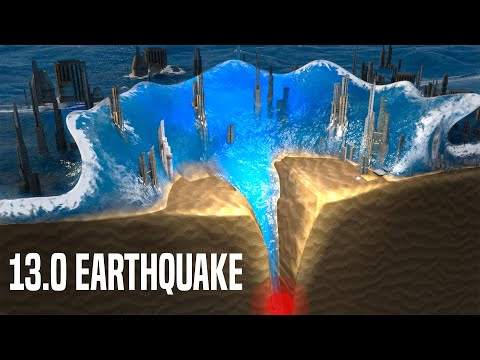 What Would Happen If 13.0 Earthquake Hits?