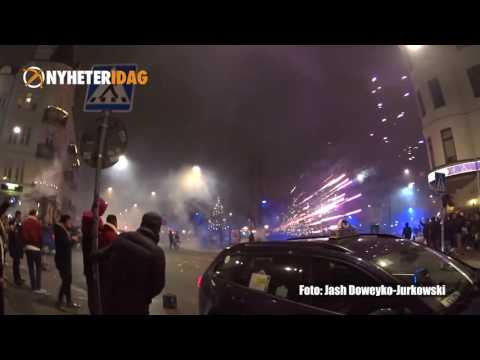 Raketattackerna på Möllevångstorget under nyår 2017