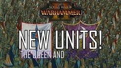 NEW UNITS! - Queen & Crone DLC Total War: Warhammer 2