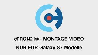cTRON21® - PET-Folie Montageanleitung (Beispiel-Video)