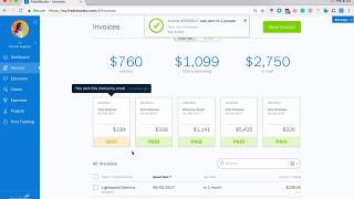 Creating & Sending Invoices