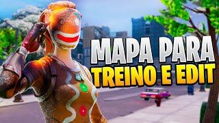 MAPA PARA TREINAR BUILD, EDIT E MIRA! - FORTNITE