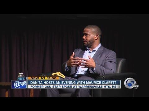 11PM: Danita Harris interviews Maurice Clarett