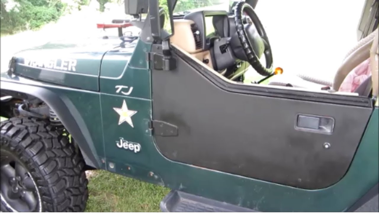 Repainting Jeep Tj Half Doors Youtube