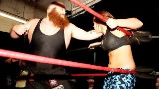 [Free Match] Heidi Lovelace (Ruby Riott) & Jordynne Grace vs. Hooligans | (Intergender Wrestling)