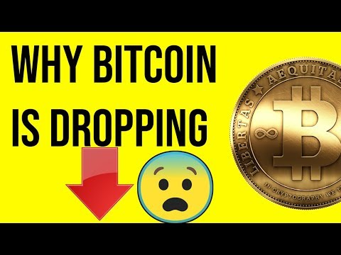 WHY BITCOIN Is Dropping And What Stock Am I SHORTING?