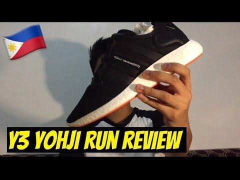 823680281357a SNEAKER REVIEW  Y3 YOHJI RUN - YouTube
