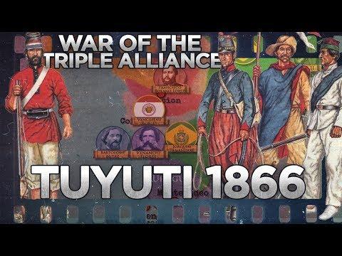 Battle Of Tuyuti 1866 - War Of The Triple Alliance DOCUMENTARY