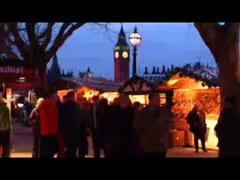UK XMAS GERMAN MARKETS (German Christmas markets pop up around the globe)