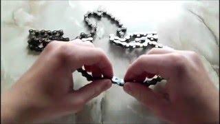 Как снять замок на велосипедной цепи(В этом видео показано, как легко и быстро разомкнуть замок на велосипедной цепи., 2016-05-18T17:43:16.000Z)