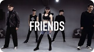 friends   marshmello   anne marie   tina boo choreography