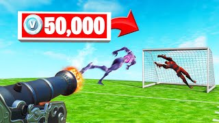 ZOMBIE FOOTBALL 50 000 V-BUCKS Challenge! (Fortnite Minigame)