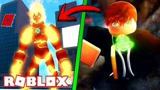 I BECOME IN BEN 10 IN ROBLOX!