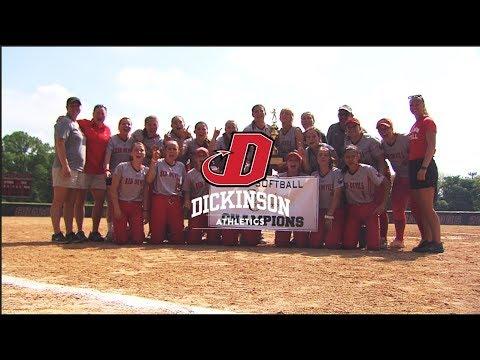Dickinson Softball | 2019 Centennial Conference Champions