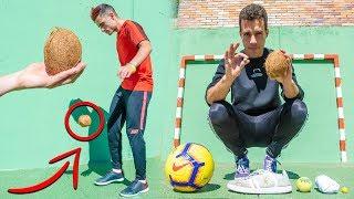 ¿ SE PUEDE DAR MÁS DE 100 TOQUES CON UN COCO ? - Futbol