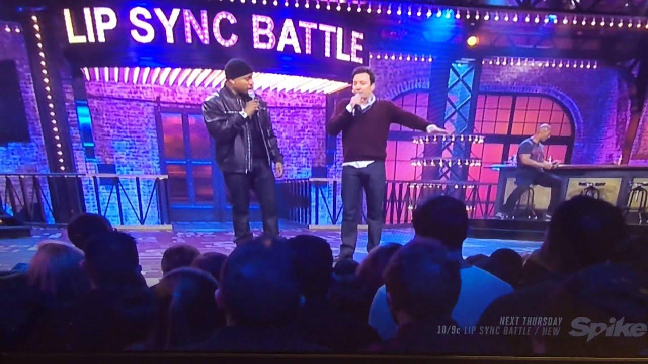 lip sync battle jimmy fallon trash talks dwayne johnson youtube