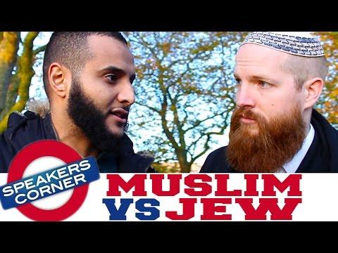 Muslim vs Jew | Muhammad Prophesied In The Torah? | Speakers Corner