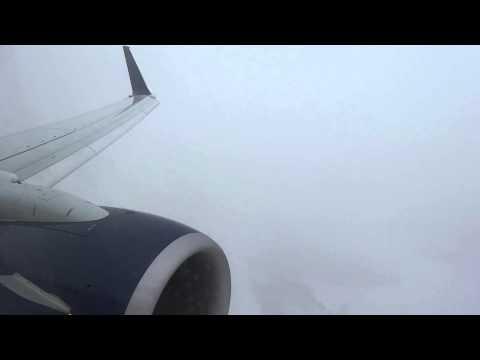 Landing in a Heavy Snowstorm! Delta 737-900ER Arrival in Detroit