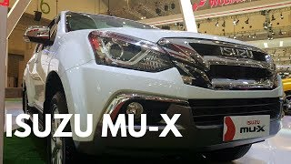NEW 2018 ISUZU mu-X PREMIER SUV - Exterior and Interior
