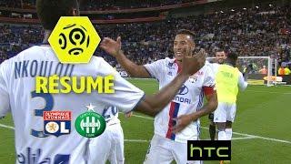Olympique lyonnais - as saint-etienne (2-0)  - résumé - (ol - asse) / 2016-17