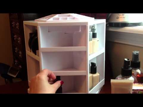 Tabletop Spinning Cosmetic Organizer - Review
