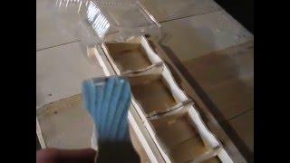 Изготовление минирамок для сотового меда.(Мед в сотах очень полезный и вкусный продукт., 2016-01-06T13:25:00.000Z)