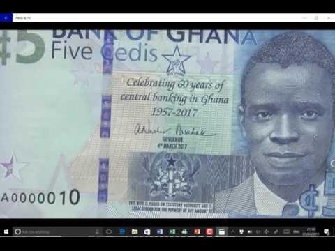 Bank of Ghana new five Ghana cedi note explained