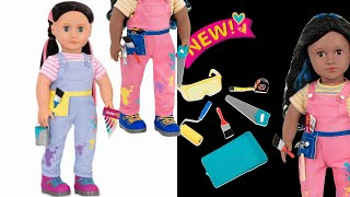 OUR GENERATION OYUNCAK BEBEK İLE GERÇEK DUVAR BOYAMA Paint & Color for kids children Bidünya Oyuncak