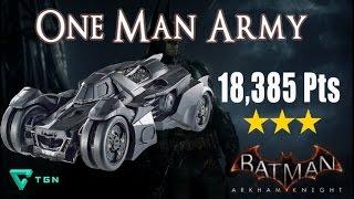One Man Army 3 stars - Batmobile Combat AR Challenge Guide - Batman Arkham Knight