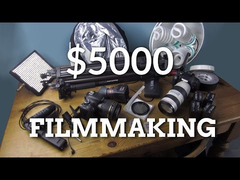 Filmmaking Kit for $5000