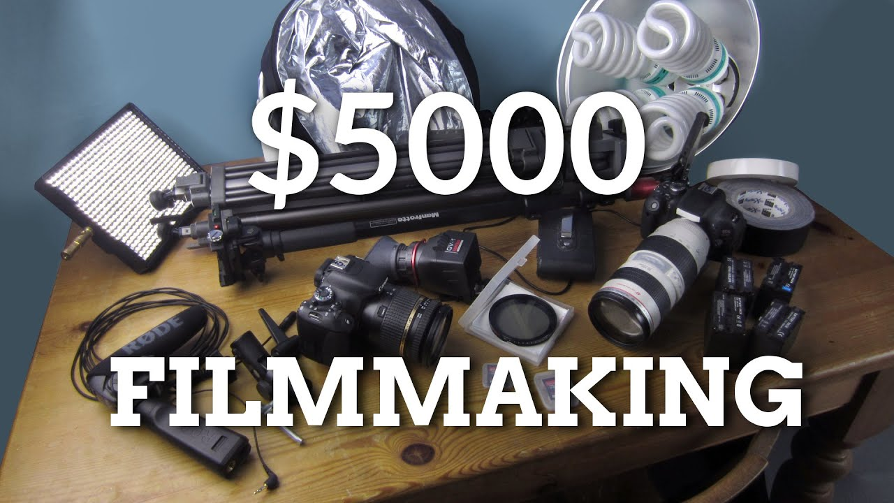 Filmmaking Kit for $5000 - YouTube