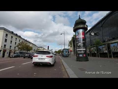Cycling in Versailles [School to Park]