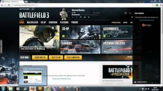 "Battlefield 3: Origin problem Tutorial ""FIX"" PC"