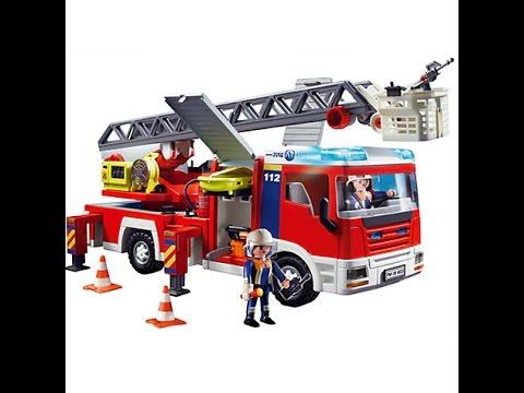 Juguetes De Camiones De Bomberos Para Nios Dibujos Animados De