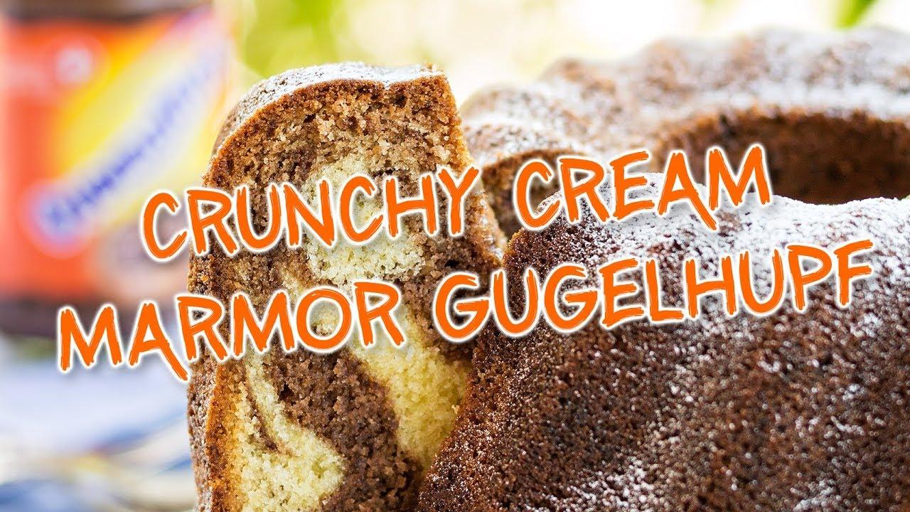 Ovo Rezept Crunchy Cream Marmor Gugelhupf Youtube