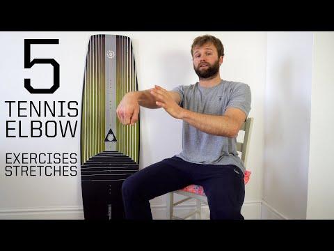 5 Best Tennis Elbow Exercises Follow Along Kite/Wake